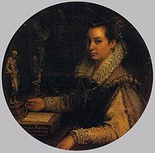 Lavinia_Fontana_-_Self-Portrait_in_a_Tondo_-_WGA7986