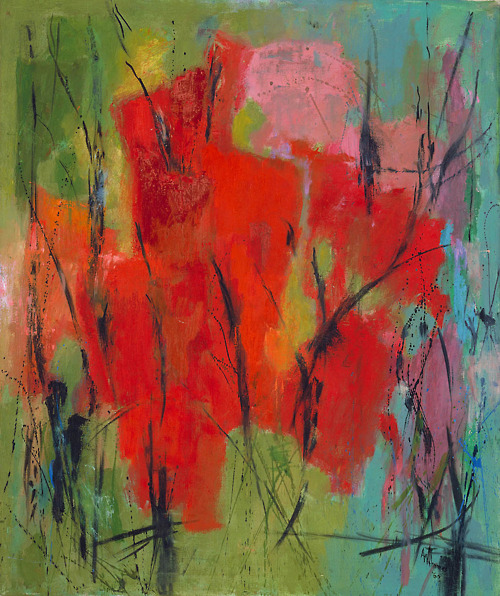 red-abstraction-1960